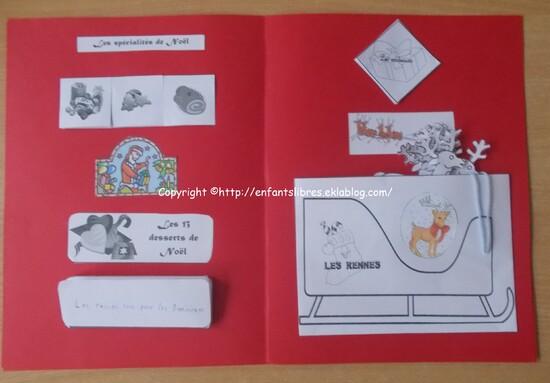 Lapbook de Noel - Esteban et Marie