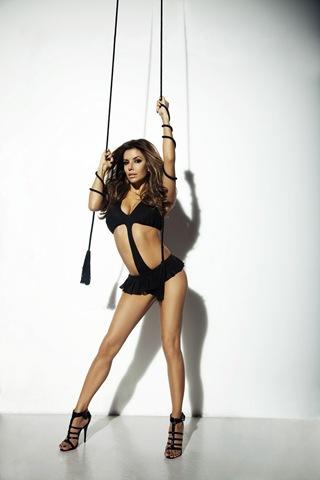 Eva Longoria en lingerie sexy