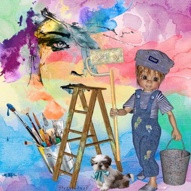 A vos pinceaux chez lili