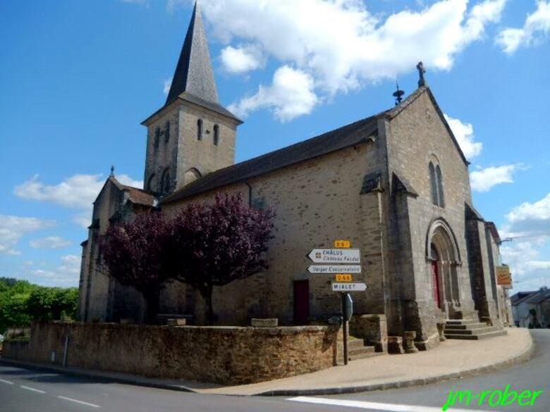 Dournazac, un petit village du département de la Haute Vienne au coeur des feuillardiers