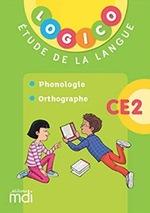 Phonologie et orthographe, CE2, Logico