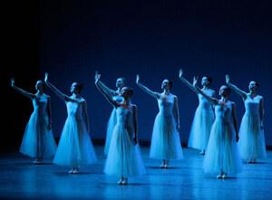 dance ballet serenade ballet