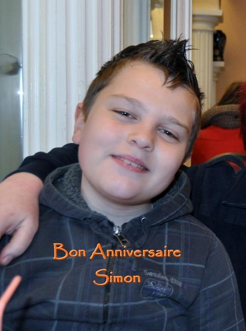 Bon anniversaire Simon