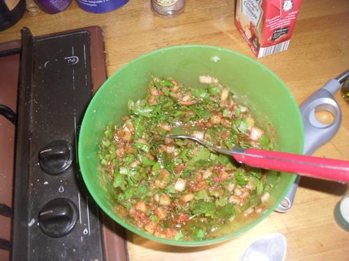 des Courgettes à la Charmoula pour des égumes pleins d'arômes