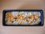 Cake mimolette noix et boursin