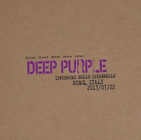 DEEP PURPLE - Les détails du nouvel album live Live In Rome 2013