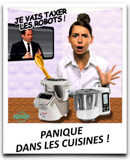 Benoit Hamon taxe sur les robots
