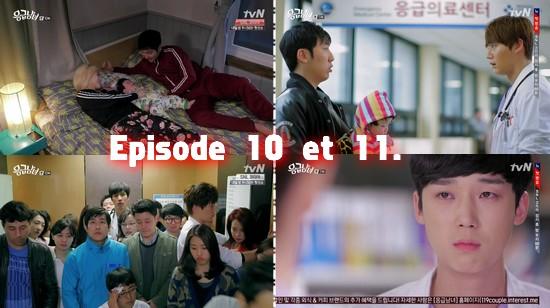 Emergency couple episodes 10 et 11 !