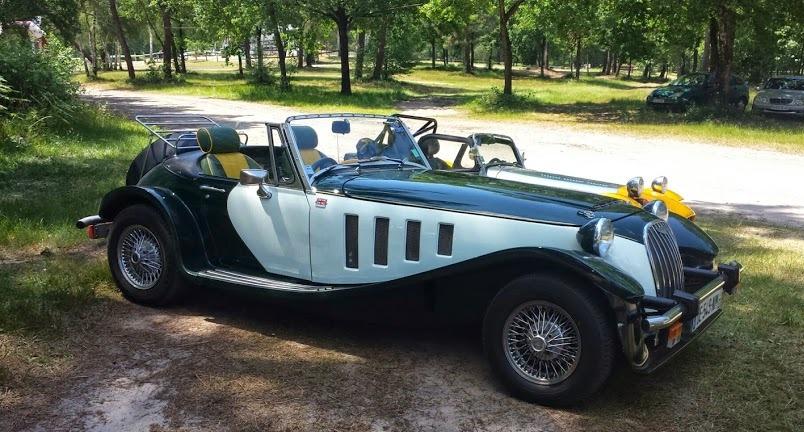 """exposition de voitures anciennes """"anglaises"""" - fresnette"""