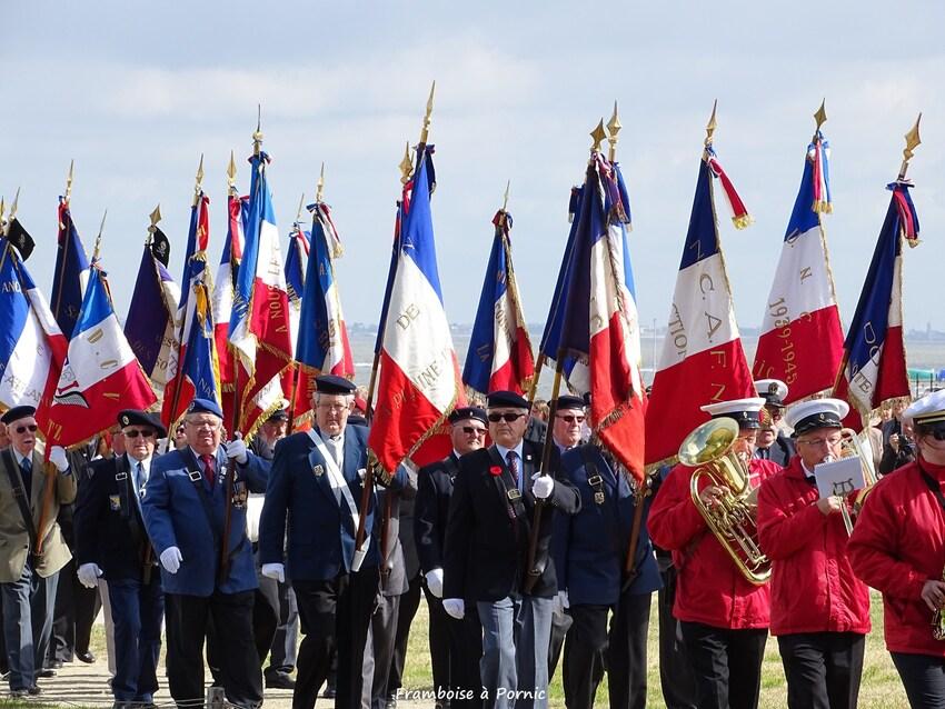 Inauguration Mémorial LANCASTRIA - 18 juin 2016- Associations Anciens Combattants Pays de Retz