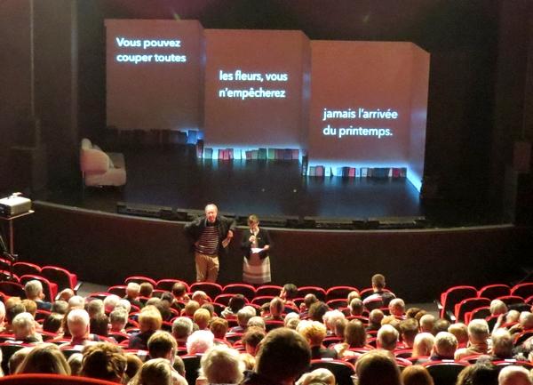 """Le Zonta-Club de Châtillon sur Seine a proposé au public Châtillonnais une ravissante pièce de théâtre """"Des précieuses pas si ridicules"""""""