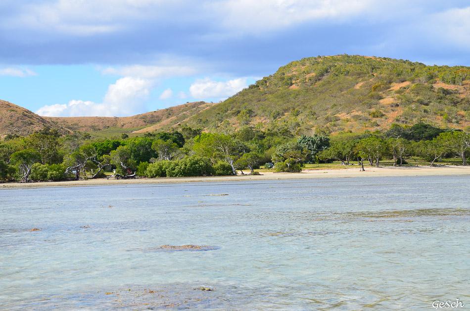 côte ouest bourail  Poé  la Foa calédonie