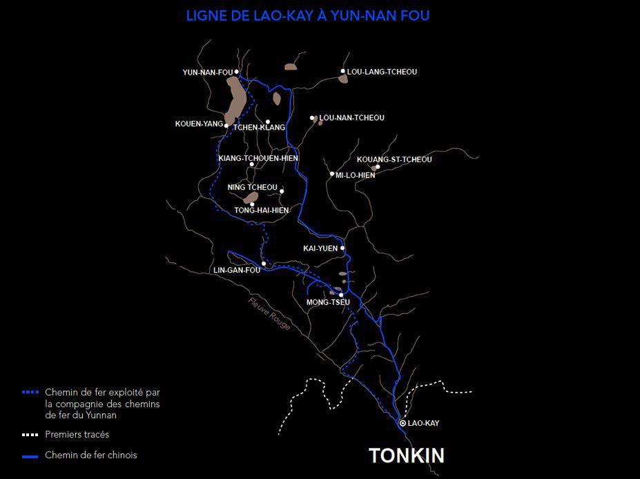 Ligne Lao-Kay à Yunnanfu