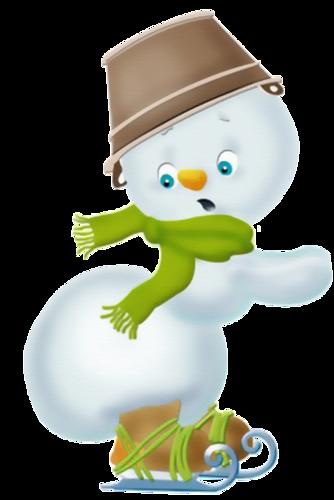 Bonhommes de Neige Série 9