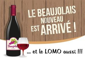 Lomo et Beaujolais Nouveau