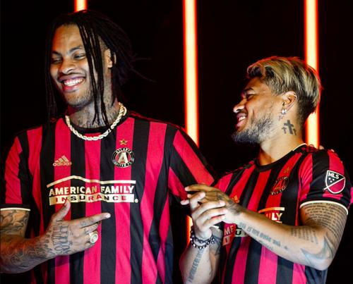 nouveau maillot Atlanta United 2019-2020 domicile