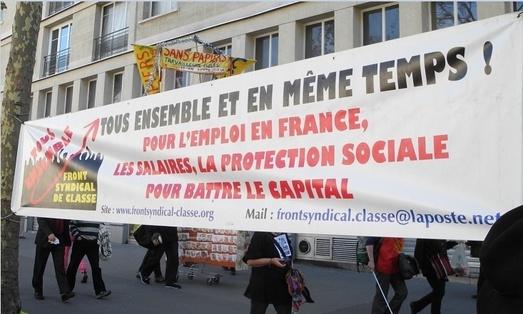 """- Le 28 avril agir encore plus fort contre la Loi """"Travail"""" El Khomri - Suivi de """"Pour la convergence des luttes"""""""