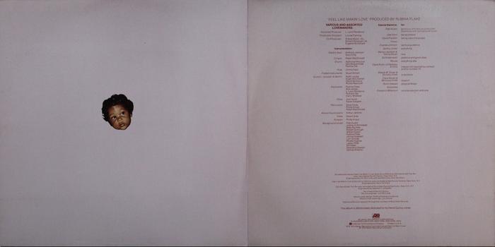 "Roberta Flack : Album "" Feel Like Makin' Love "" Atlantic Records SD 18131 [ US ]"
