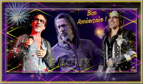 Florent PAGNY Anniversaire