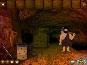 Jouer à Paleolithic man escape