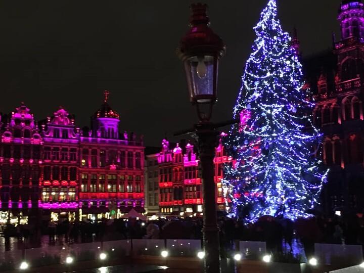 Illuminations Noël Bruxelles.