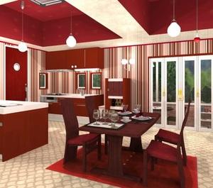 Jouer à Fruit kitchens 18 - Pomegranate red