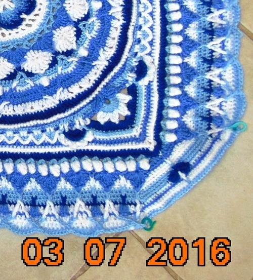 "Un ""Mandala"" au crochet 5"