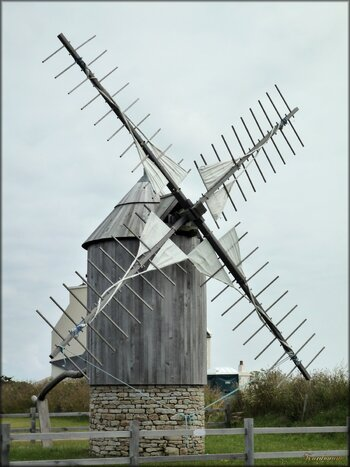 Photo de Moulin-tour à vent de Cleden-Cap-Sizun
