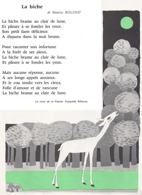 La biche (Maurice Rollinat)