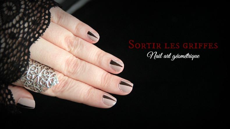 Nail Art géométrique : Sortir les griffes !
