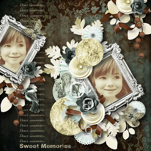 "Pack de templates ""Opale"" by Pat's Scrap"