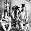 Medicine Bear and another Cheyenne man. 1890. Montana. Photo by Christian Barthelmess. Source - Mont