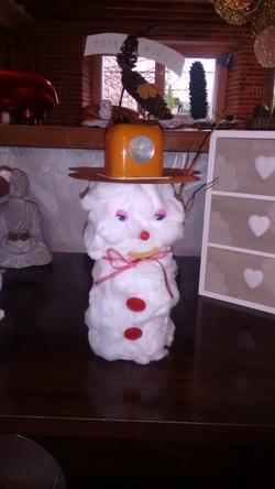 Bonhomme de neige récup!