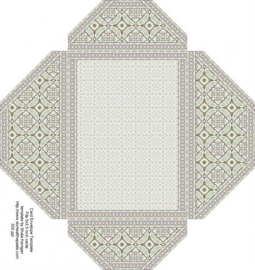 Favori Enveloppes à imprimer - Les créas de Fatna FZ05