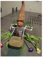 défi n°2 : le bonhomme cuisine