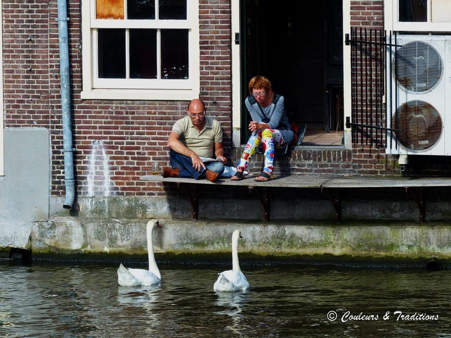 Amsterdam et ses bateaux