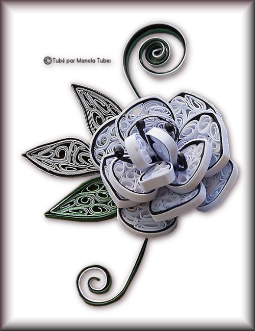 Tubes Quilling Arts floral 2999
