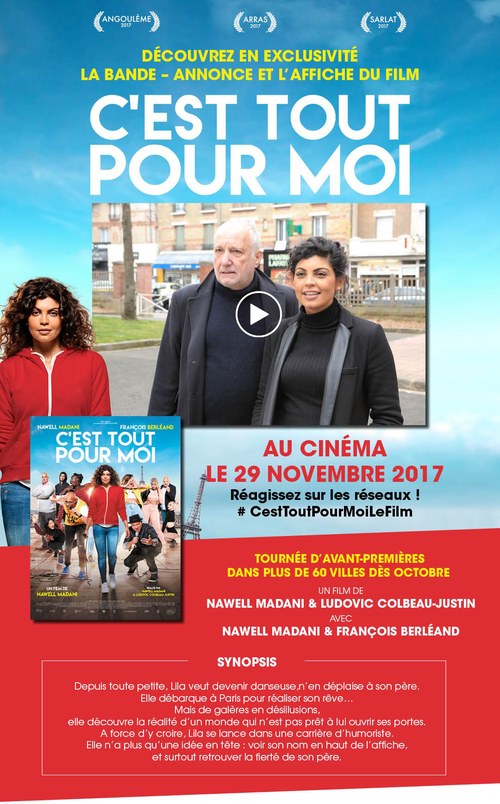 C'EST TOUT POUR MOI - DÉCOUVREZ EN EXCLUSIVITÉ LA BANDE-ANNONCE ET L'AFFICHE DU FILM