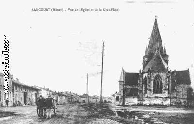 Rancourt sur Ornain-la Meuse , Région Lorraine