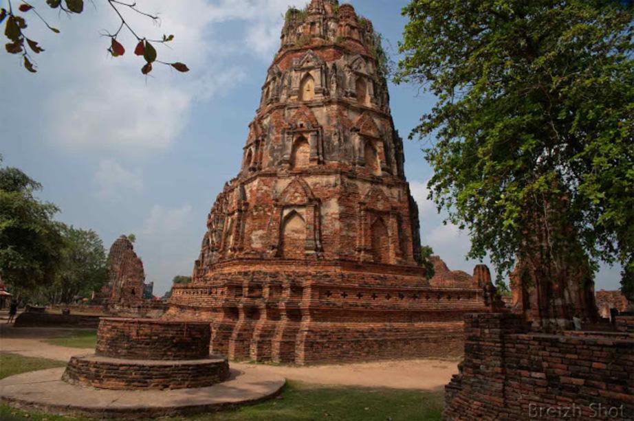 Ayutthaya - bouddhas décapités