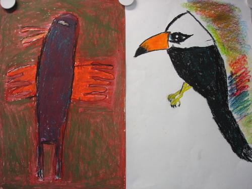 Les oiseaux imaginaires