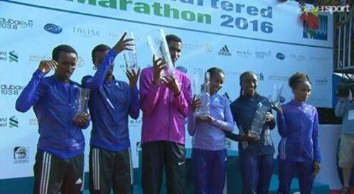 Marathon Dubai 2016