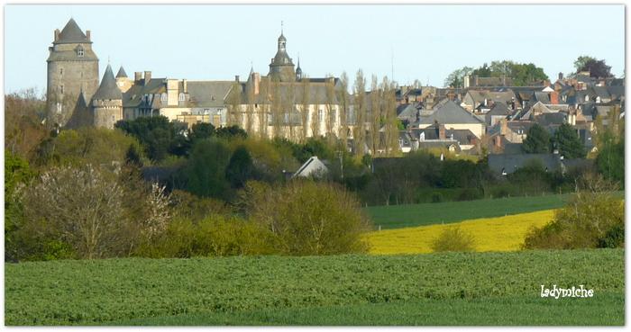 Châteaugiron en Bretagne .