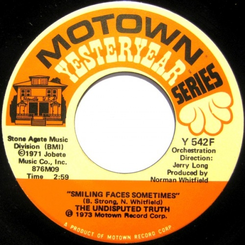 "1973 : Single SP "" Motown Yesterday Series "" Y 542F [ US ]"