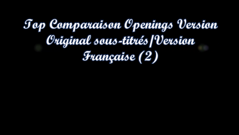 Top Comparaison Opening VOSTFR /Opening VF (2)