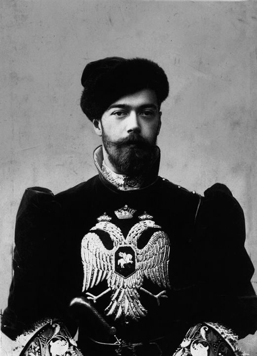 memory-of-the-romanovs: Николай II. Nicholas II. In fancy dress for the Romanov Anniversary Ball (1903):
