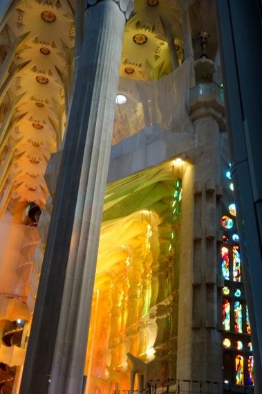 En Espagne, la Sagrada Familia