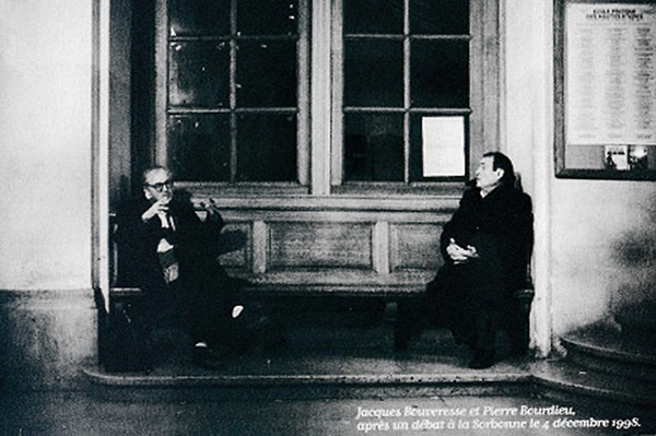 Pierre Bourdieu Jacques Bouveresse Sorbonne Paris 1998