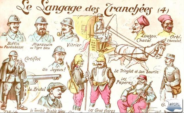 Le langage des tranchées