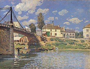 Sisley-Bridge at Villeneuve-la-Garenne
